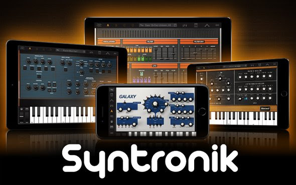 Syntronik – the legendary synth powerhouse is now available for both iPhone and iPad