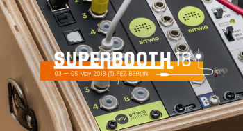 Superbooth and ES-8 Bitwig Edition