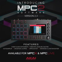 Akai Releases MPC 2.3 Update with 3 New Plugin Instruments, Autosampler, and More