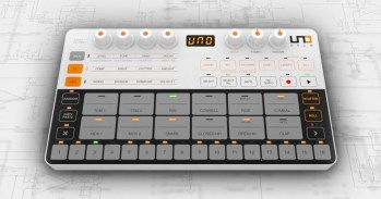 IK Multimedia's UNO Drum analog/PCM drum machine is now available