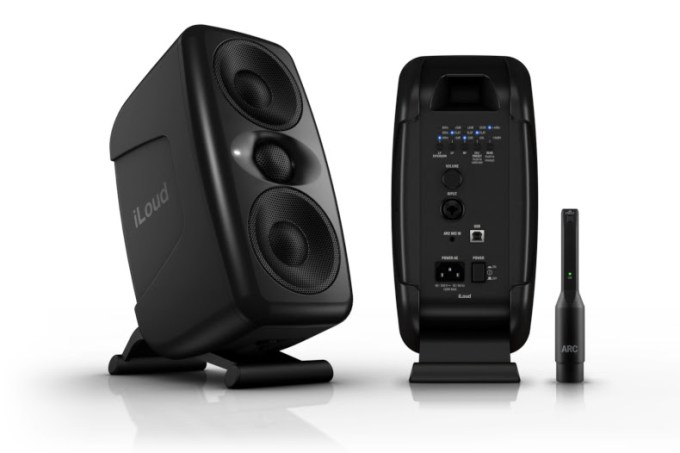 IK Multimedia iLoud MTM reference monitors are now available