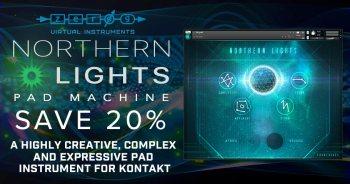 Zero-G Release Northern Lights Pad Machine