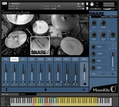 Soniccouture Releases Moonkits: Modern Brush Drums for Kontakt Player