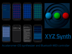 XYZ iOS Synth 1.1 update