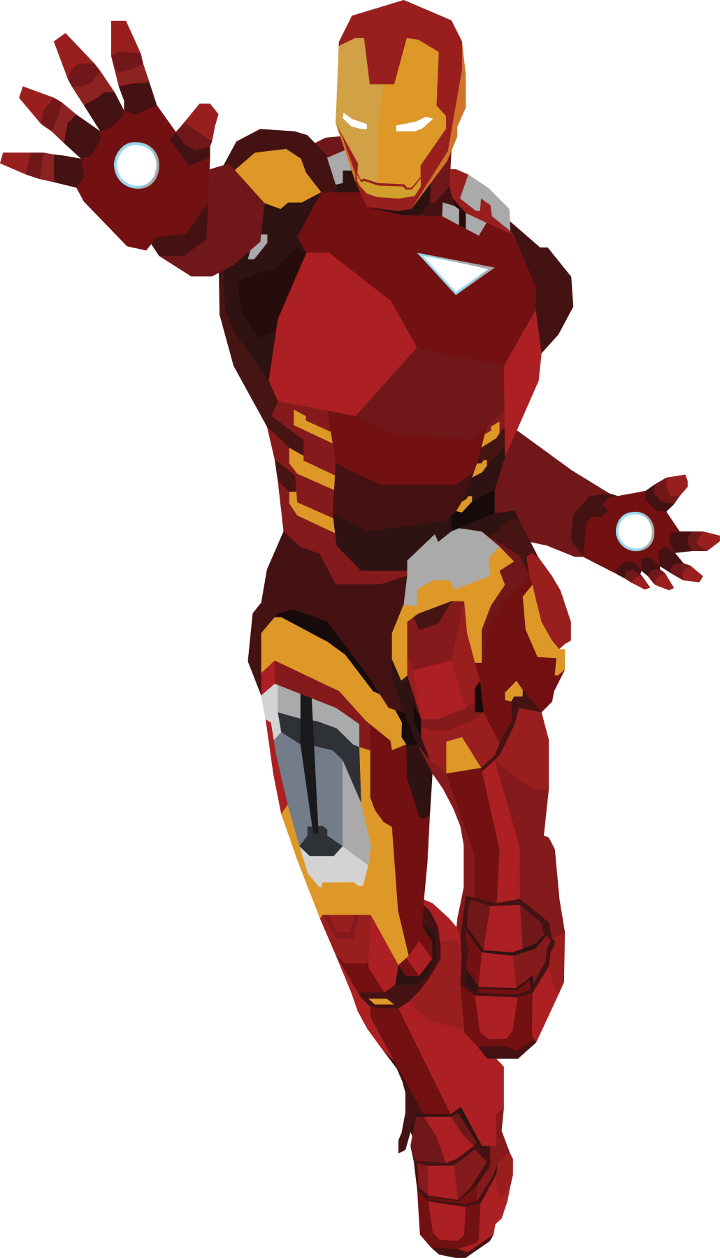 Iron Man Vector Design