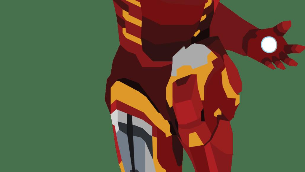 Iron Man Vector Design