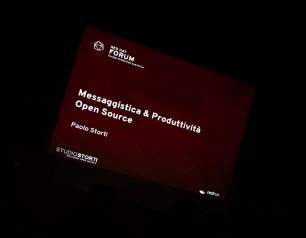 intervento di Paolo Storti - Messaggistica&Produttività Open Source