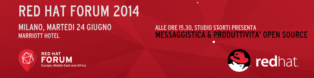 Red Hat Forum 2014 - Marriott Hotel - Milano