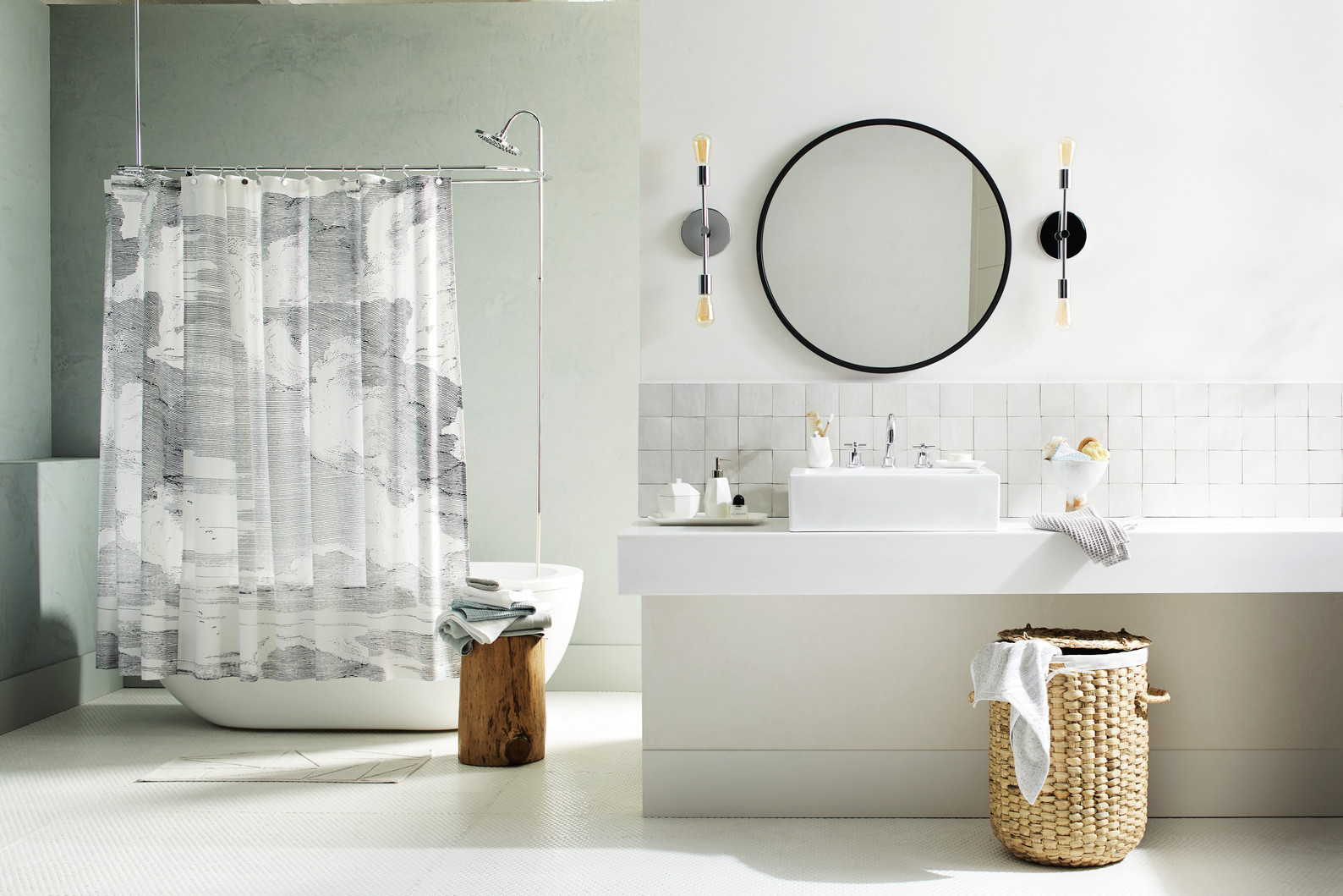 introducing water street our soft stylish and sustainable bath collection west elm