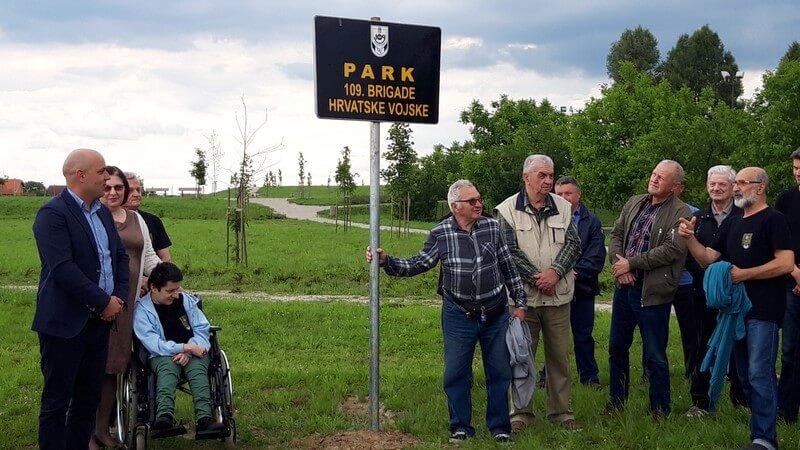 park, brigada, 109., vinkovci