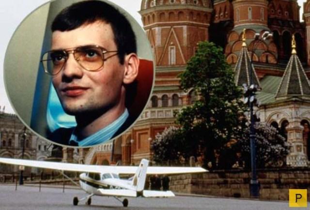 Матиас Руст: посадка на Красной площади и дальнейшая судьба (10 фото)