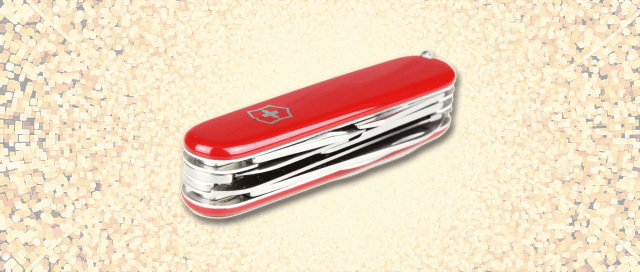 An image depicting a Swiss Army Knife.