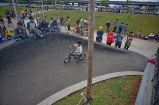 Arena BMX di Kalijodo (Image source: Hairil Saleh/Twitter)