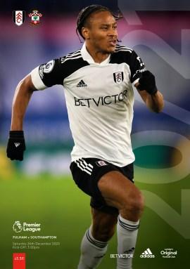 Fulham v Southampton programme