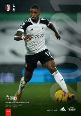 Fulham v Tottenham Hotspur Official Programme