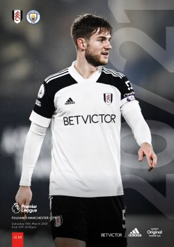 Fulham v Manchester City official match-day programme