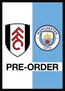 Pre-order Fulham v Manchester City programme