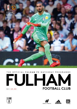 Fulham v Hull CityOfficial match-day programme