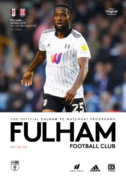 Fulham v Stoke City official matchday programme