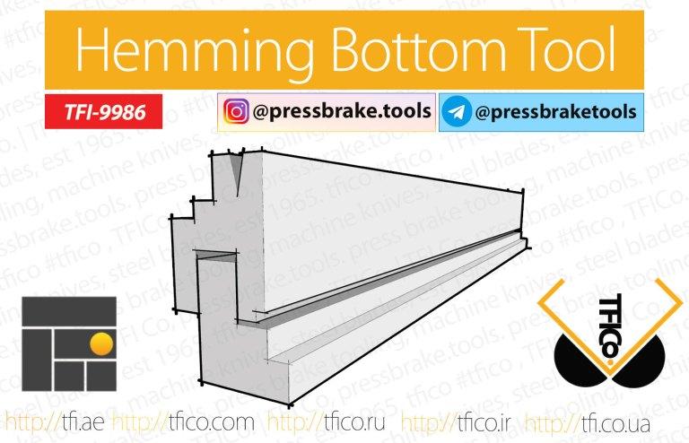 Hemming Tools Lower Die TFI-9986