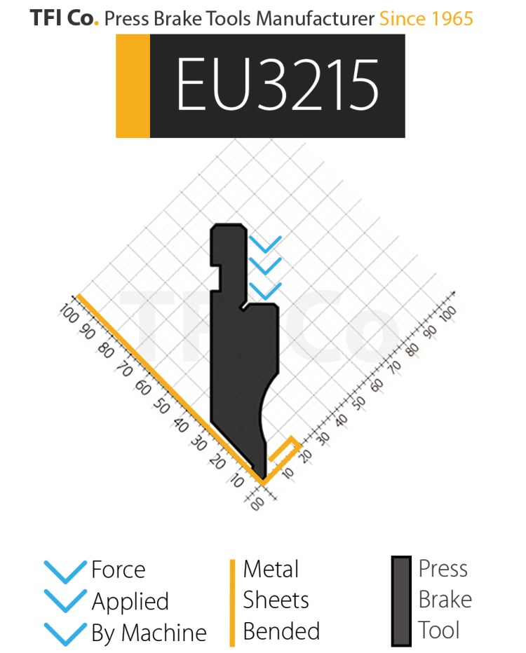 EU3215 , press brake tools, european design , amada , tfico, machine, press brake tools, tooling, press, brake, bending , upper, steel, tokoyo, california, uae, usa, industrial , manufacturer,