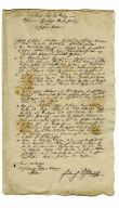 Contract über den Verlag einer Allgemeinen Europäischen Staaten Zeitung von Hr. Hofrat Schiller
