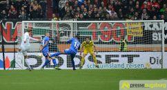 fca_darmstadt_0017 Neustart missglückt! | FC Augsburg verliert auch gegen Aufsteiger Darmstadt FC Augsburg News Sport Bundesliga FC Augsburg FCA SV Darmstadt 98 |Presse Augsburg