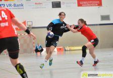 170408_TSVH_THI_003 Ein großer Wurf | TSV Haunstetten Handball sichert sich wichtige Punkte im Abstiegskampf Augsburg Stadt Handball News News Sport FSG Mainz 05/Budenheim TSV Haunstetten Handball |Presse Augsburg