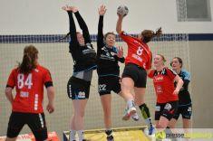 170408_TSVH_THI_012 Ein großer Wurf | TSV Haunstetten Handball sichert sich wichtige Punkte im Abstiegskampf Augsburg Stadt Handball News News Sport FSG Mainz 05/Budenheim TSV Haunstetten Handball |Presse Augsburg