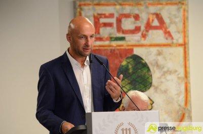FCA-Präsident Hofmann war erneut für eine starke Nachwuchsarbeit | Foto: Wolfgang Czech