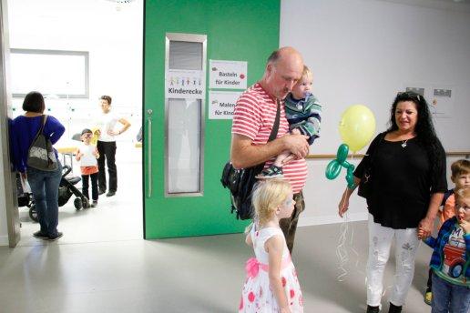 Tag der offenen Tür Krankenhaus Aichach anlässlich der Einweihung des neuen Anbaus