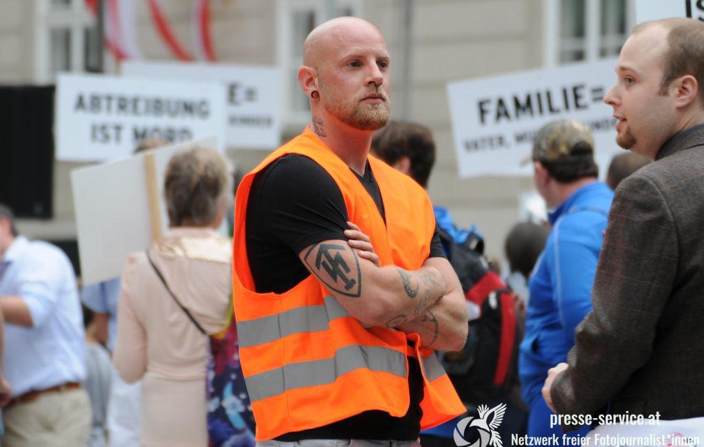 """""""Marsch für die Familie"""" in Wien (16.06.2018)"""