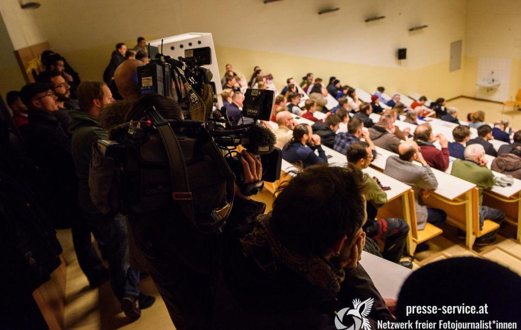 Rechtsextreme in Vorlesung von Lothar Höbelt an der Universität Wien (21.01.2020)