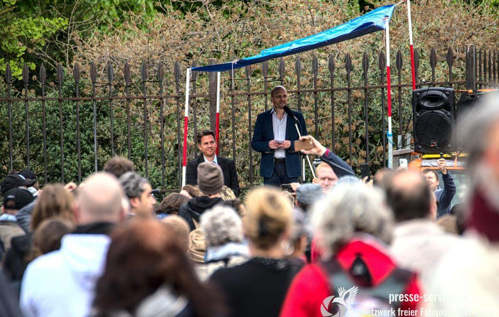 Wien: Kundgebung gegen die Corona-Maßnahmen der Regierung (01.05.2020)