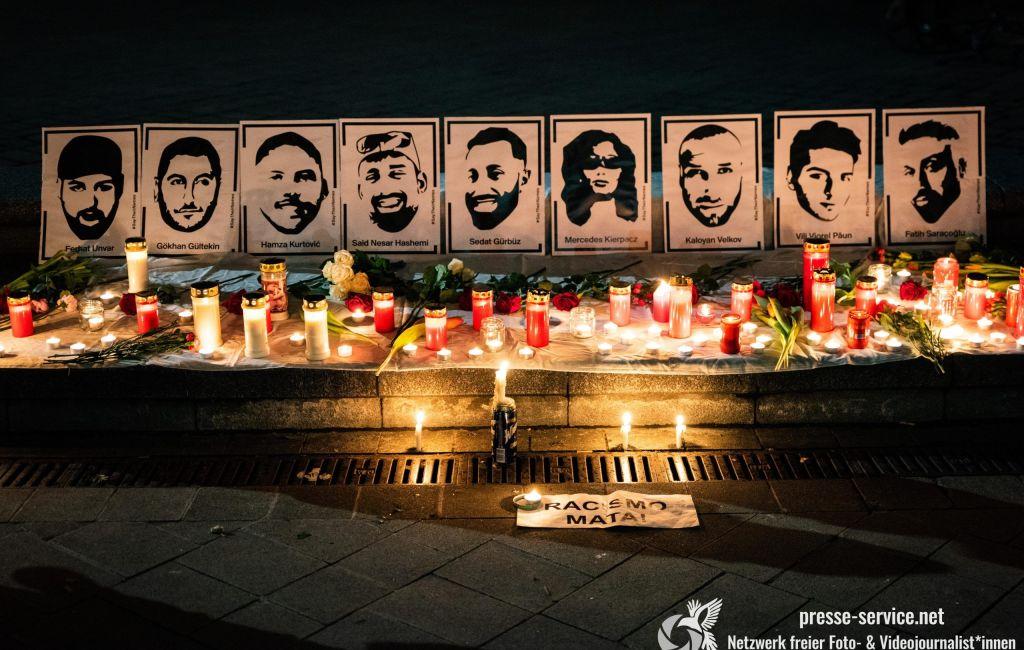 Wien: Demonstration in Gedenken an die Opfer des Terroranschlags von Hanau (19.02.2021)