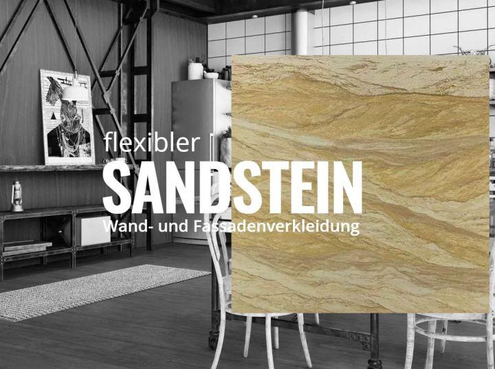 Samera - flexibler Sandstein - flexibler Beton
