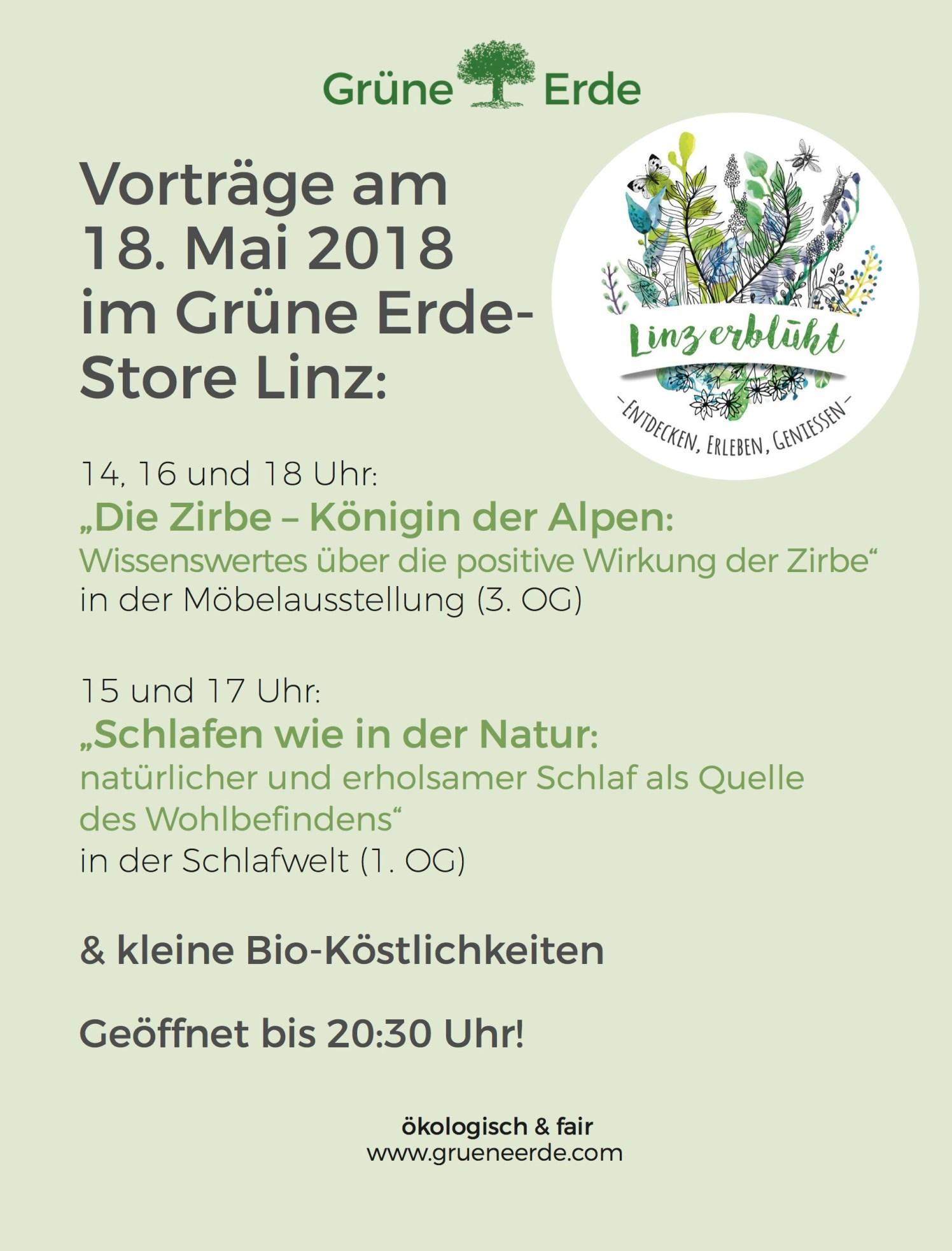 Gruene Erde - Vortraege am 18.05.2018
