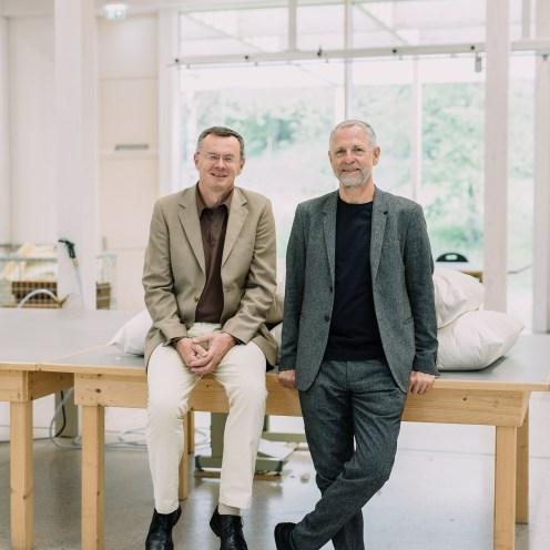 Kuno Haas und Reinhard Kepplinger (Eigentümer)