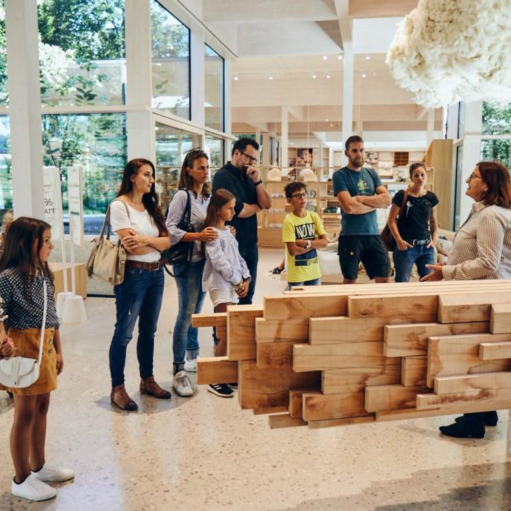 Entdecken, lernen, einkaufen und genießen. Die Grüne Erde-Welt ist ein Ausflugsziel für die ganze Familie
