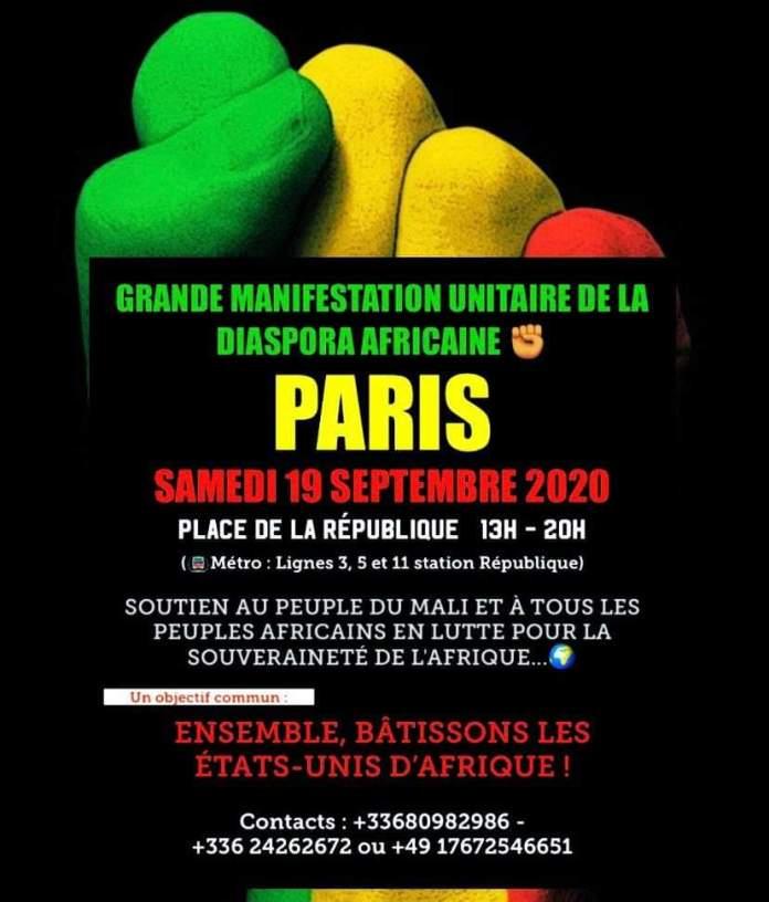 Manifestation Unitaire de la Diaspora Africaine