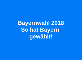 Bayernwahl 2018 So hat Bayern gewählt
