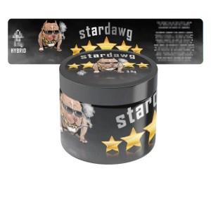 Stardawg T2 Jar Labels
