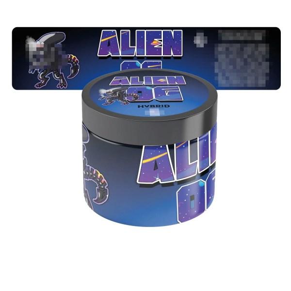 Alien OG Jar Labels