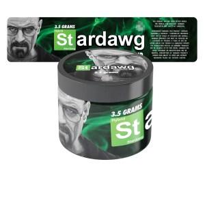 Stardawg Breaking Bad Jar Labels