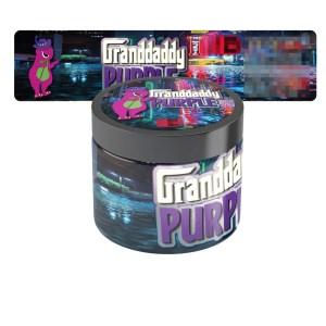 Granddaddy Purple Type 2 Jar Labels