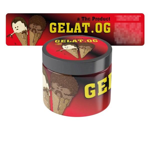 Gelat OG Jar Labels