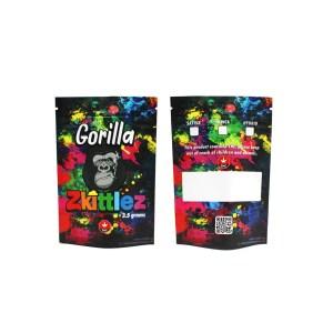 Gorilla Zkittlez Mylar Bags