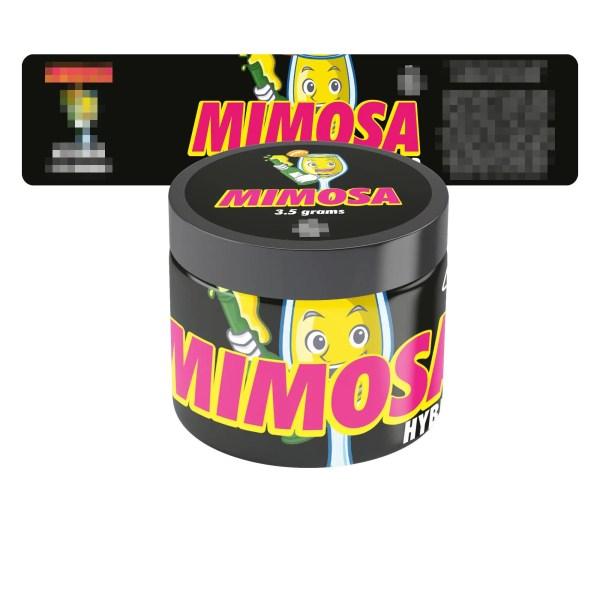 Mimosa Jar Labels
