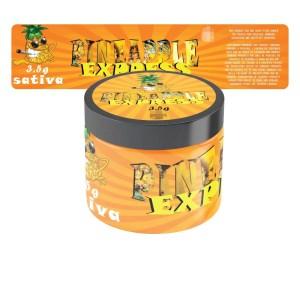 Pineapple Express Jar Labels