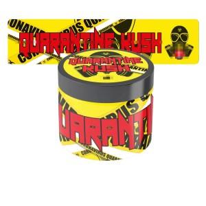 Quarantine Kush Glass Jar Labels